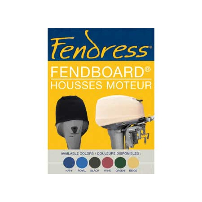 Fendress Covers for Outboard Motors 60 x 50 x 50cm Soft Navy