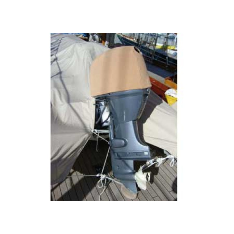 Funda GRIS CLARO Ajustable para Cabeza Motores Fueraborda T-L 60 x 35 x 35cm