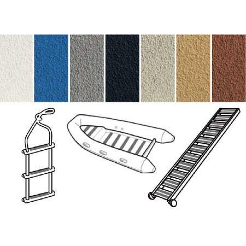 white non-slip strips 2.5 cm x 10 mt
