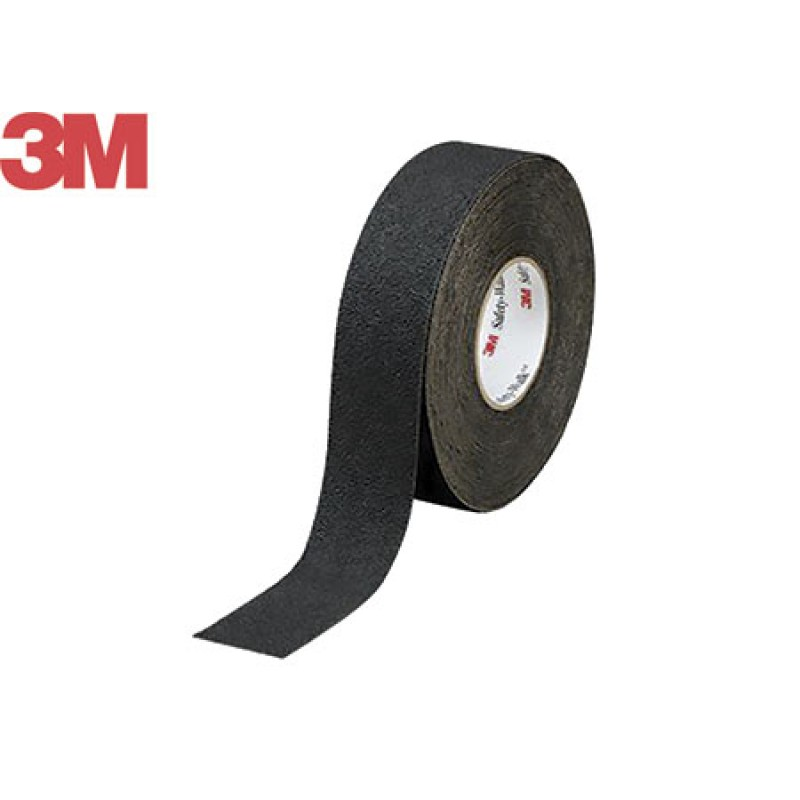 3M Safety-Walk General Purpose self-adhesive non-slip strips 25mmx18m Black