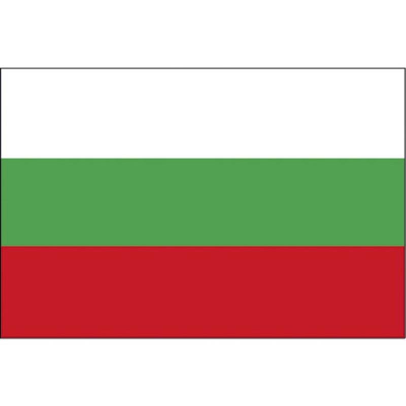 BULGARIA FLAG 20X30CM