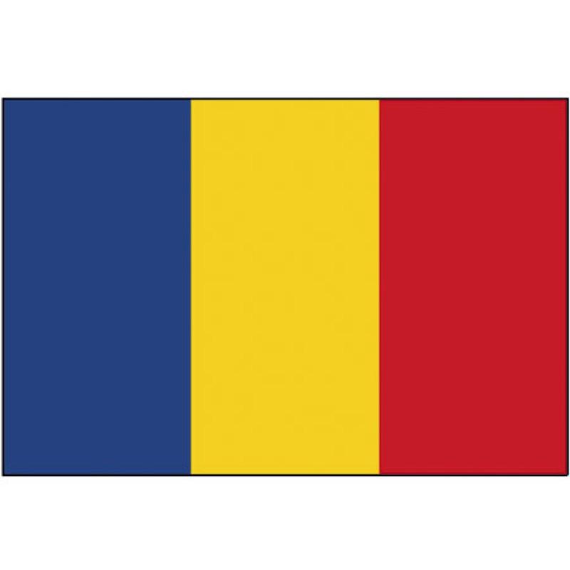 Rumania bandera los 20x30cm