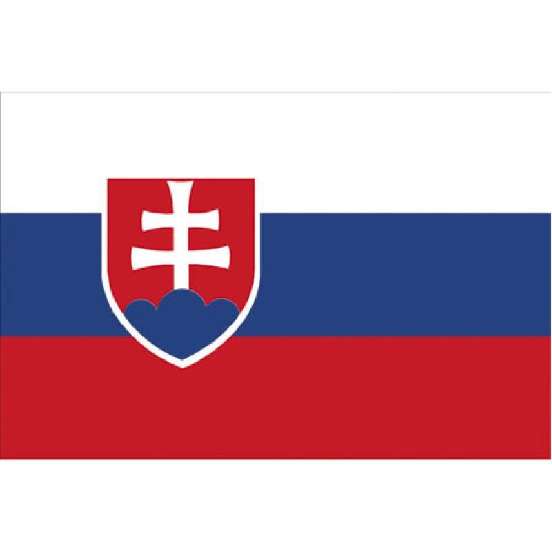 Bandera de Eslovaquia 30x45cm