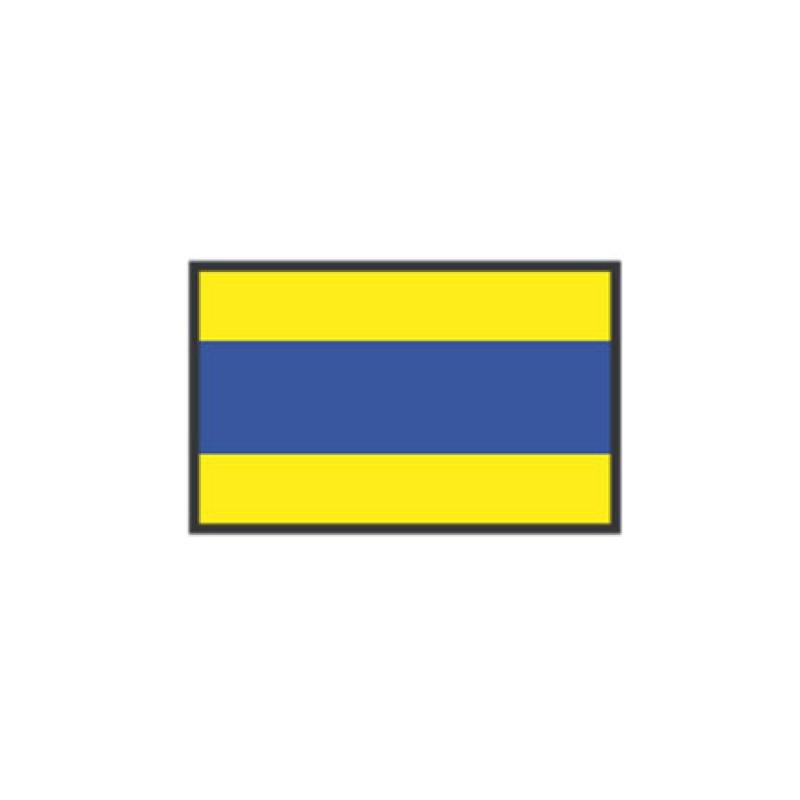 Flag of Signaling D DELTA 40X60CM