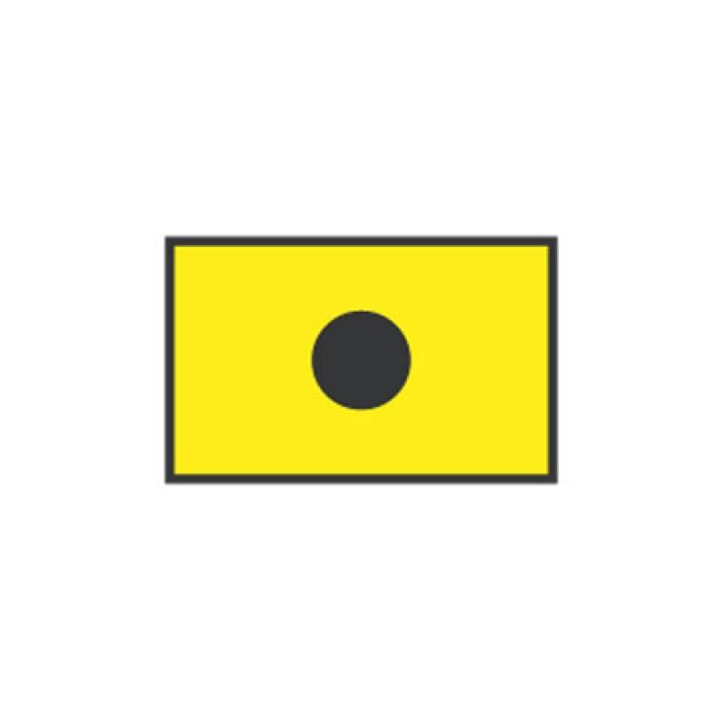 Signal flag India CM: 20 X 30