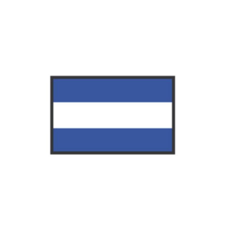 Banderas de Señales: J JULIET 40X60CM