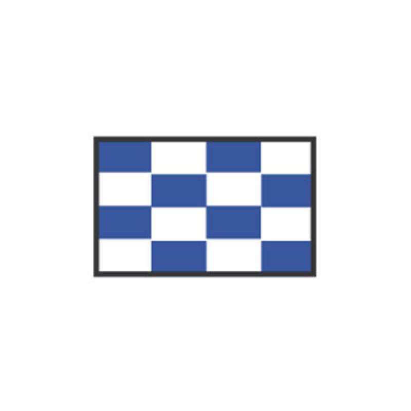 Signal flag N November CM: 20 X 30