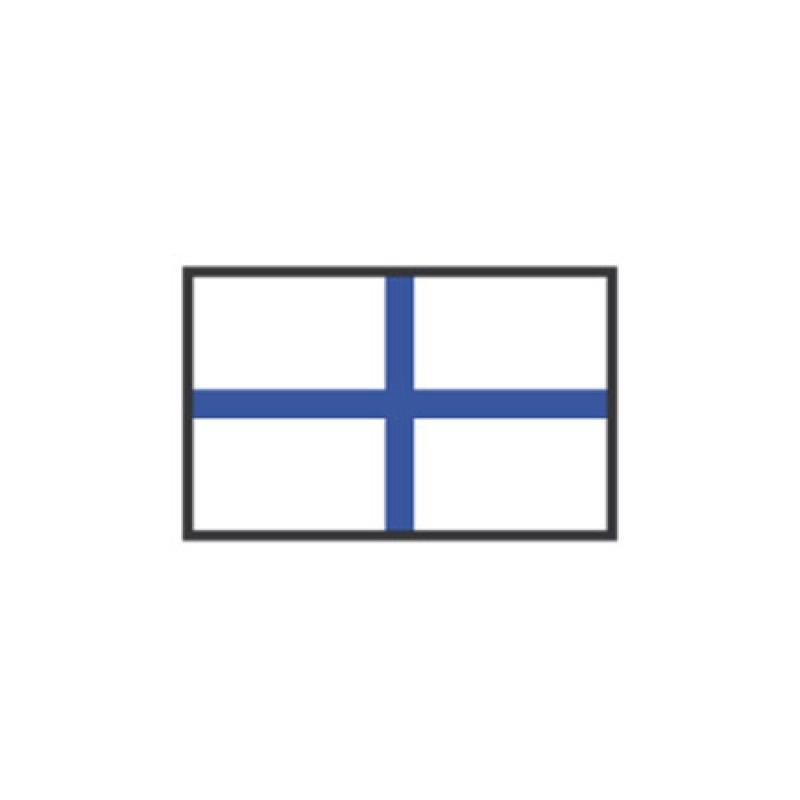 X CM flag signal: 20 X 30