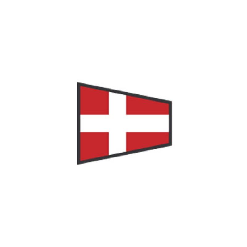 Banderas de Señales: Numero 4 - 40X60CM