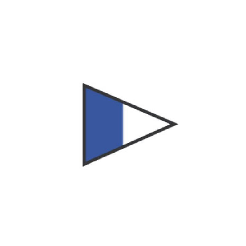 Nautical Flag Signal Repeater 2 40X60CM