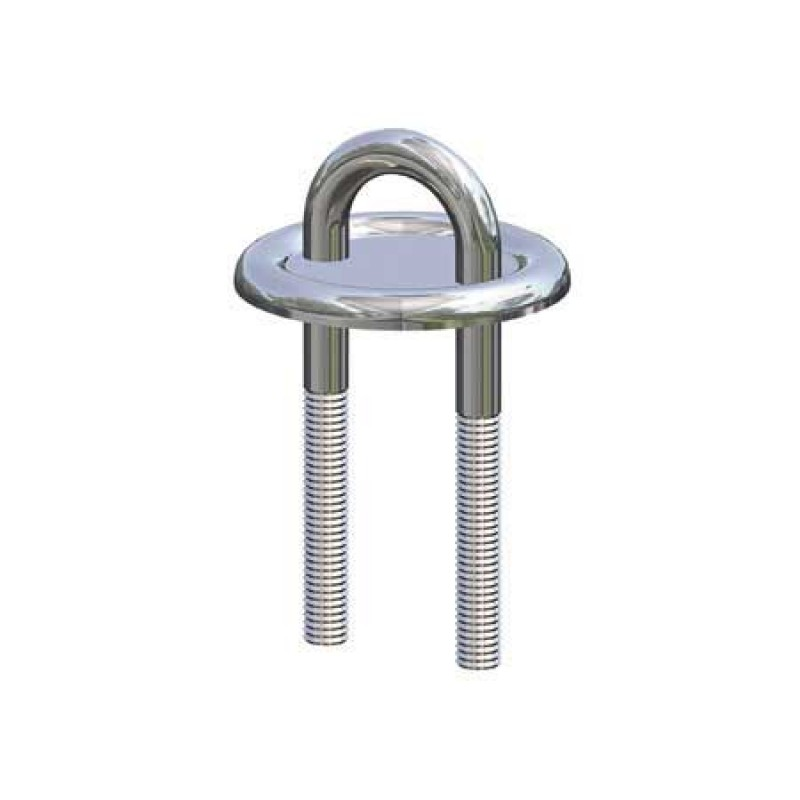 Antal pulley 60mm with fixing and spring 12mm out