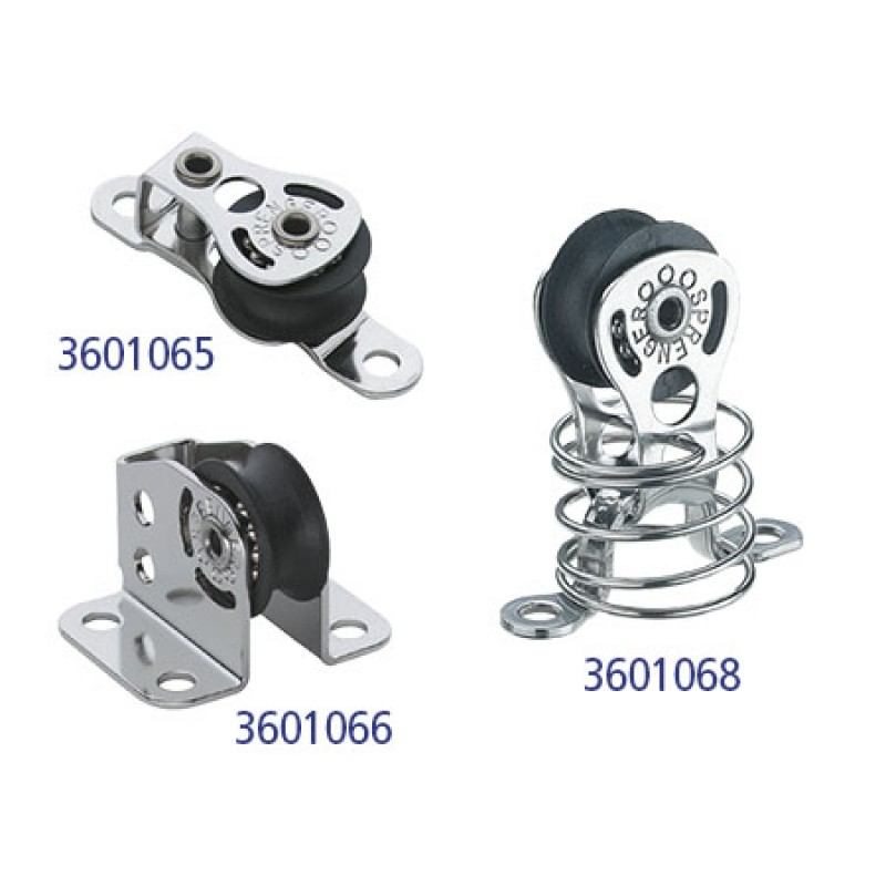 Ball bearing HS blocks for sheets up to 6 mm Single Recessed Cheek Block