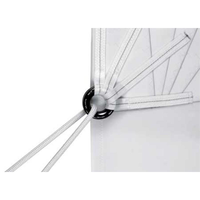 Anillos de aluminio anodizado negro Antal para veleros 56x30mm