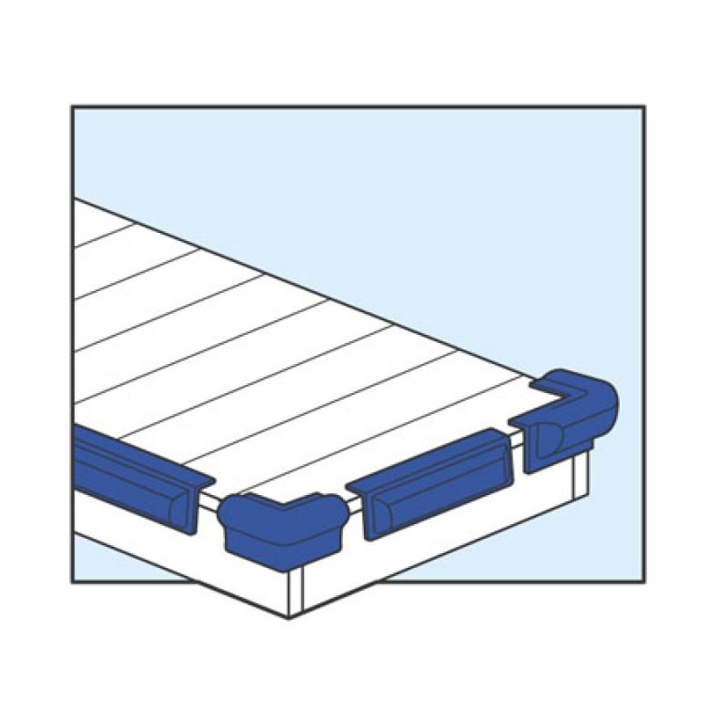 Dock Fender Majoni Jf3 angled white plate