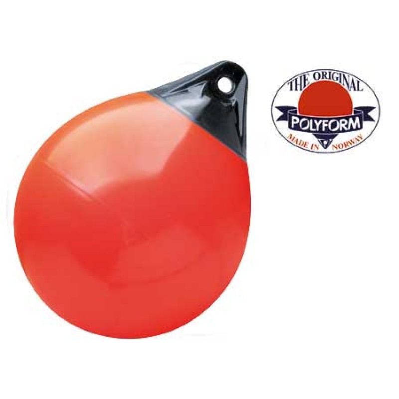 Inflatable Buoy Polyform A4 730 mm RED
