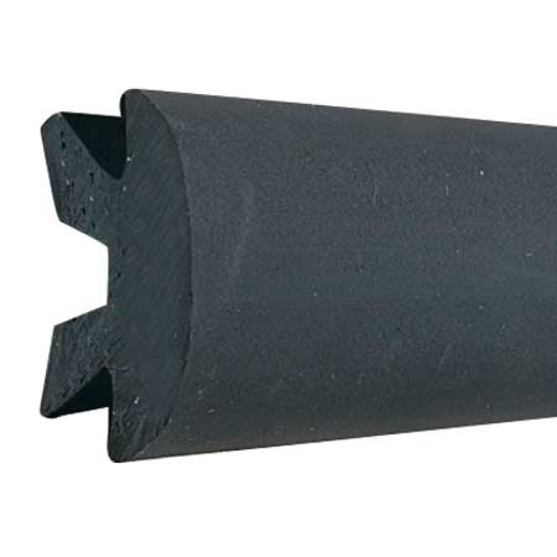 Black Cover Joint for Rubber Fender Profile H56