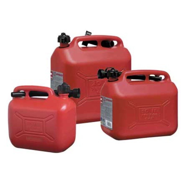 Approved Plastic Portable fuel Jerry Can 20lt