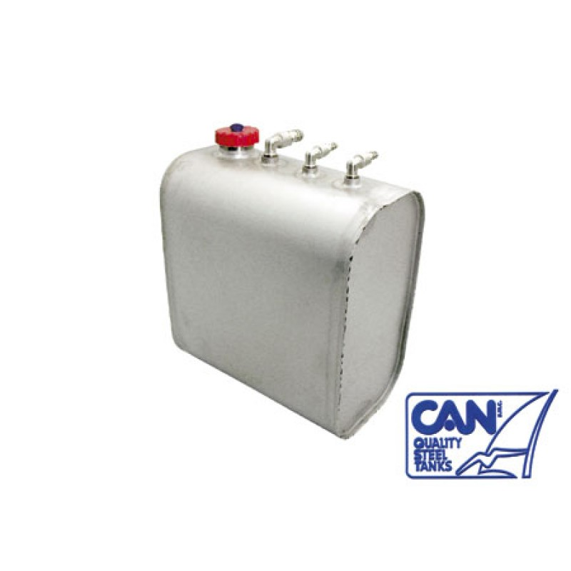 Stainless Steel Can Vertical Fuel tank 25 l