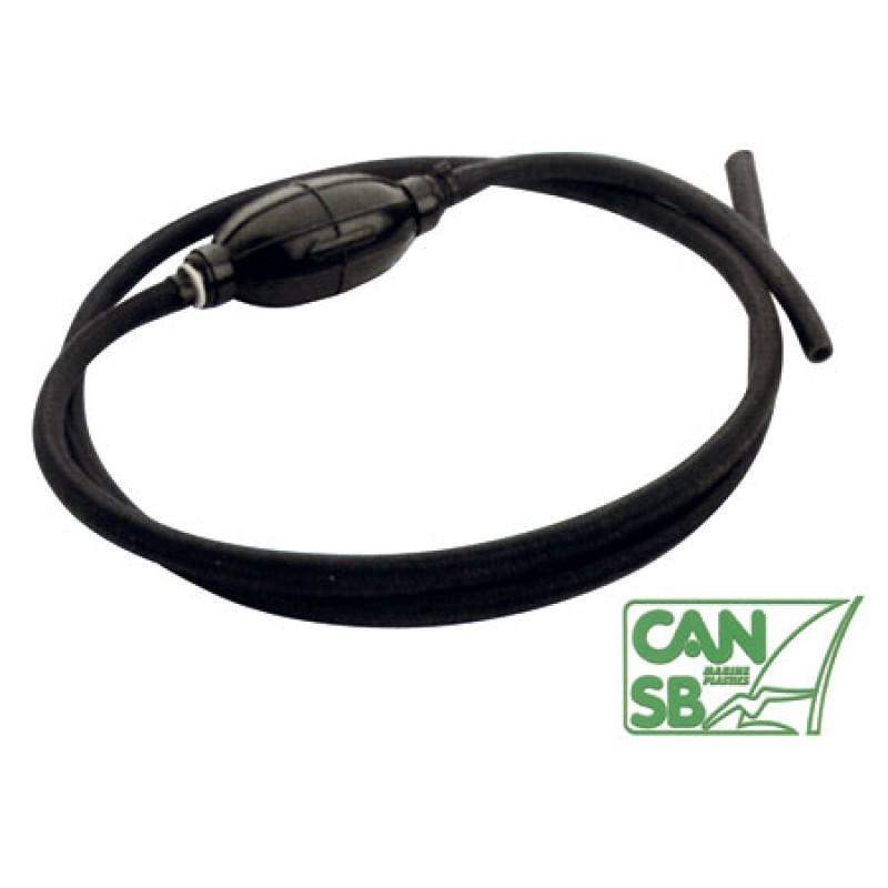 Linea de Combustible Extra soft 8mm con perilla 2 m
