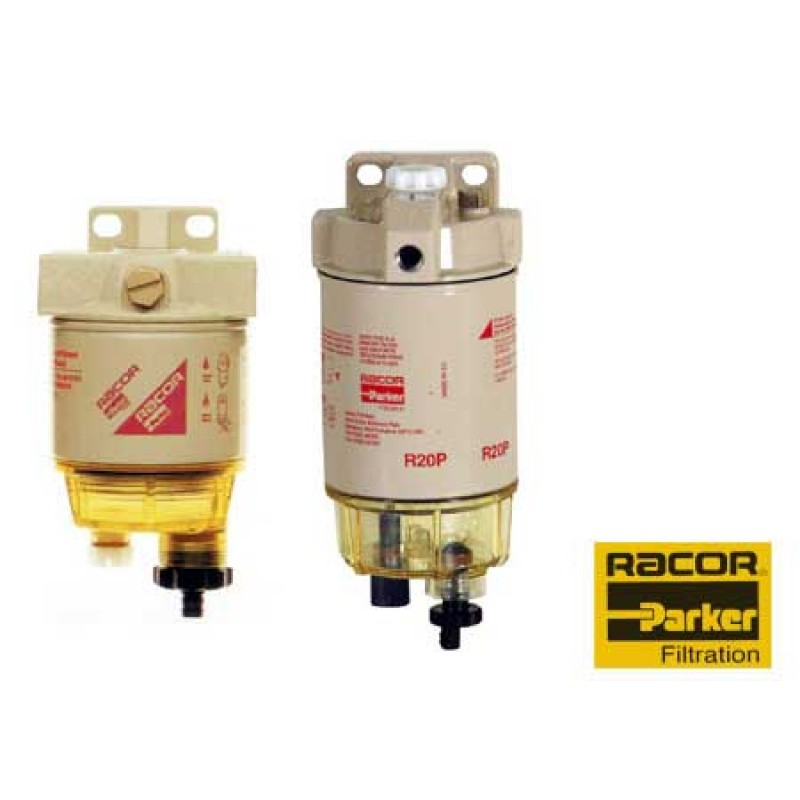 racor spin-on diesel filters with aquabloc technology 102 x H229 mm