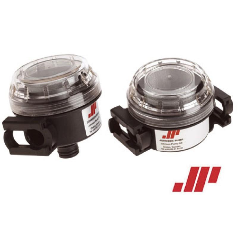 Filtros de agua Johnson 2 x 1/2 pulgadas manguera 90° BSP