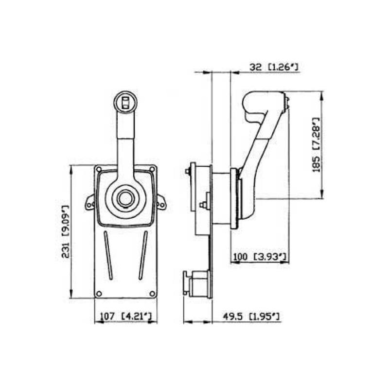 Mando Morse Ultraflex B184