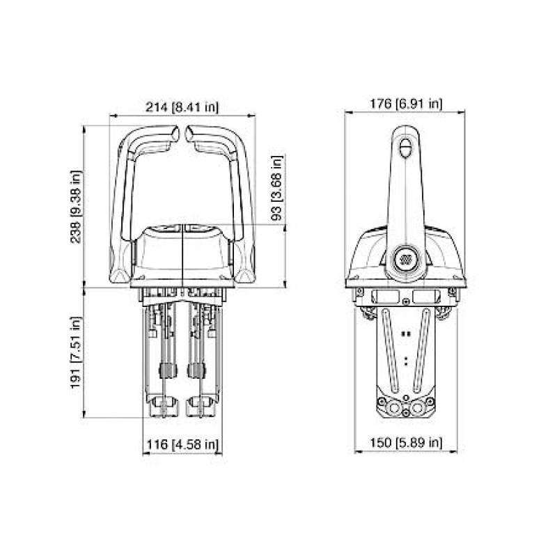 B501cht cromo palanca