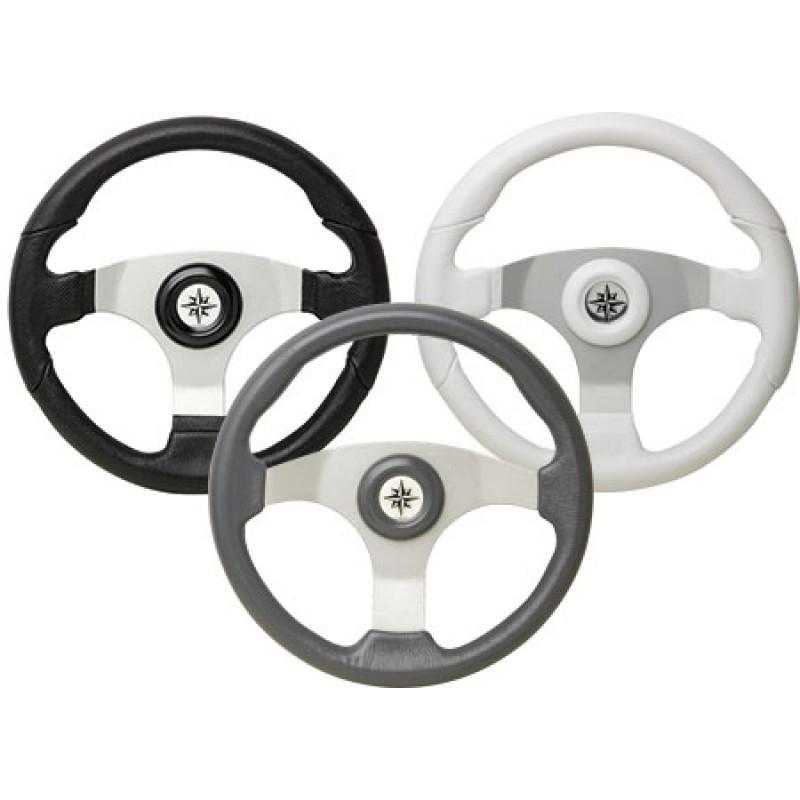 Volante deportivo de rueda 15 D350 blanco