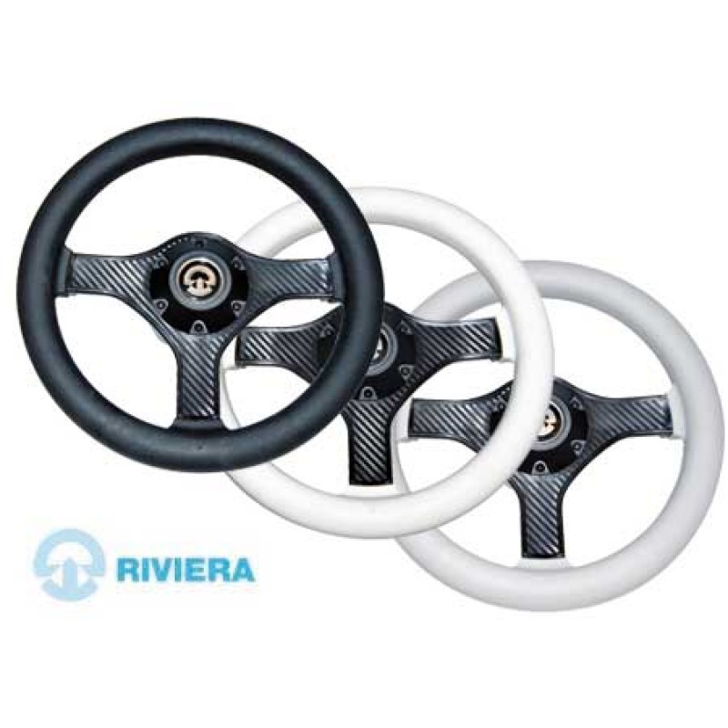 Riviera Black VR00 280mm steering wheel