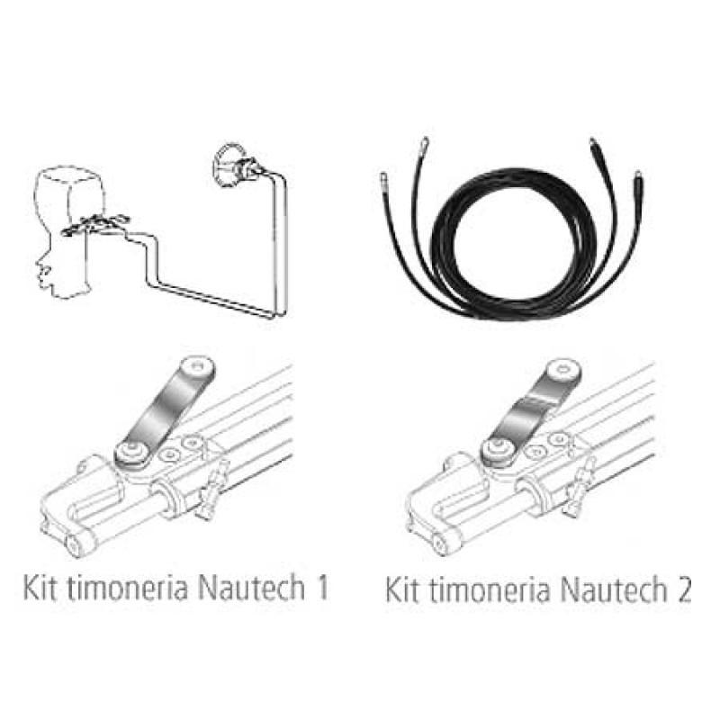 Kit de 2 tubos de 3,5 m para Dirección Hidraulica Nautech 1
