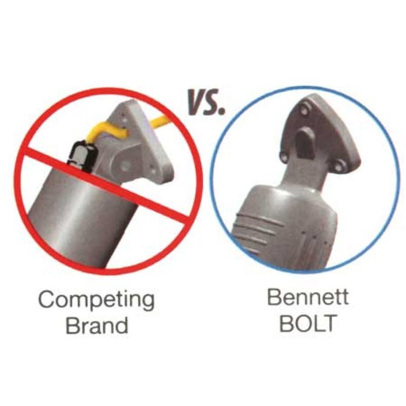 Bennett trim tab kit 12v Bolt 129- 300 x 230mm