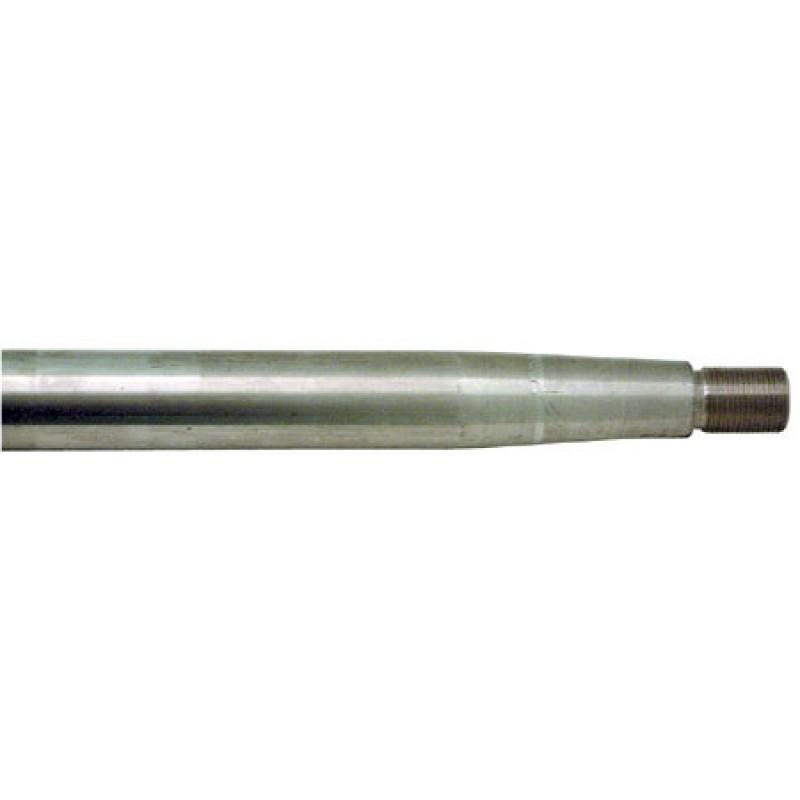 Eje Helices Inox 30mm x 180cm Troquelado con cono torneado 20 x 1.5mm