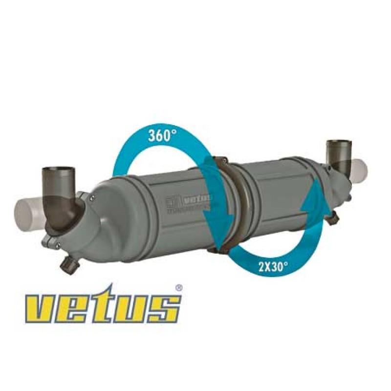 Colector Vetus NLPH75 MM