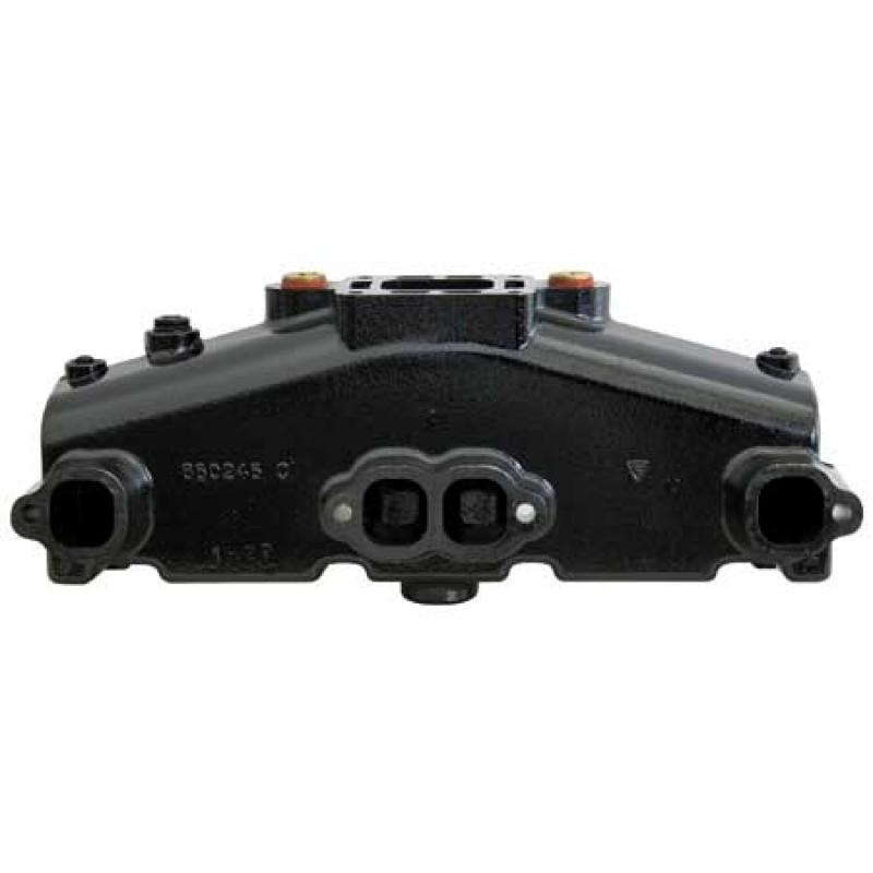 Genuine Mercruiser exhaust manifold 860246A15 (Matt Black)