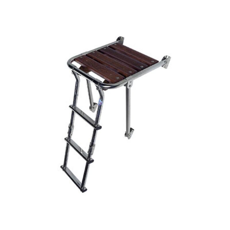 Plataforma de baño Minox 270 x 390mm Escalera 2 peldaños