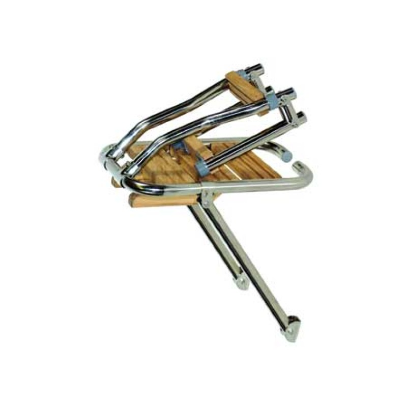 Plataforma de Popa Tinox 280 x 450mm escalera Plegable