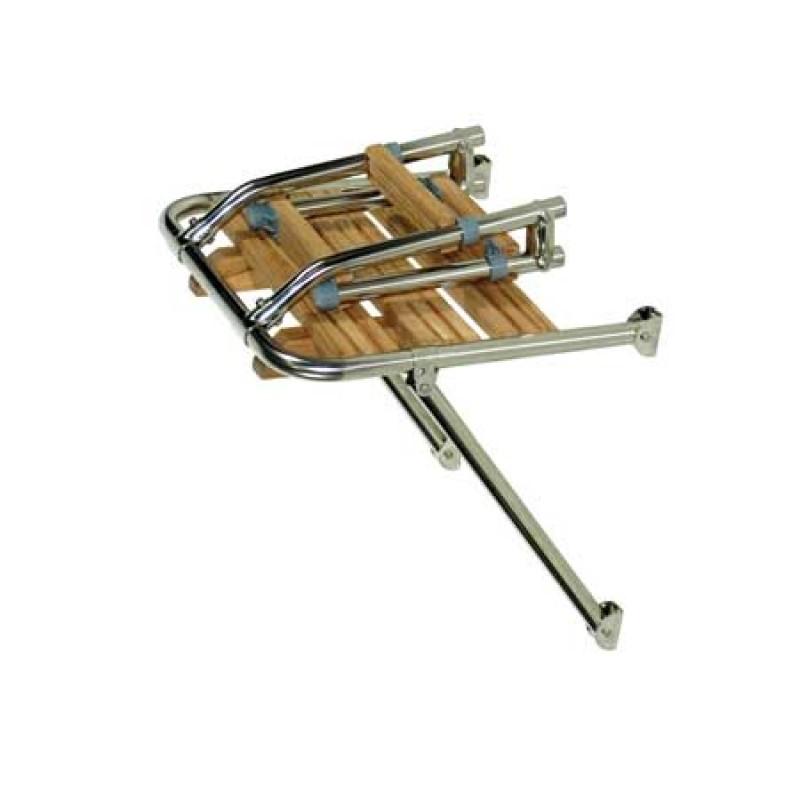 Plataforma de Popa Tinox 410 x 450mm escalera Plegable