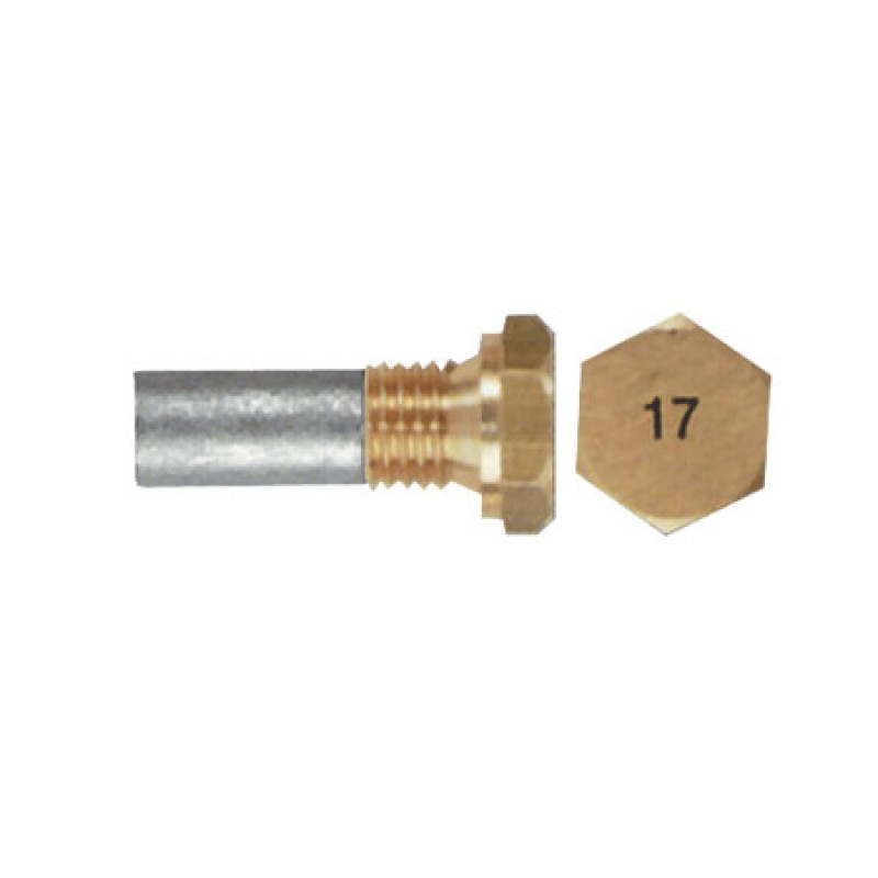 Anode with Head Plug Aifo-Fiat engine (10x18mm) 44/700 I/C