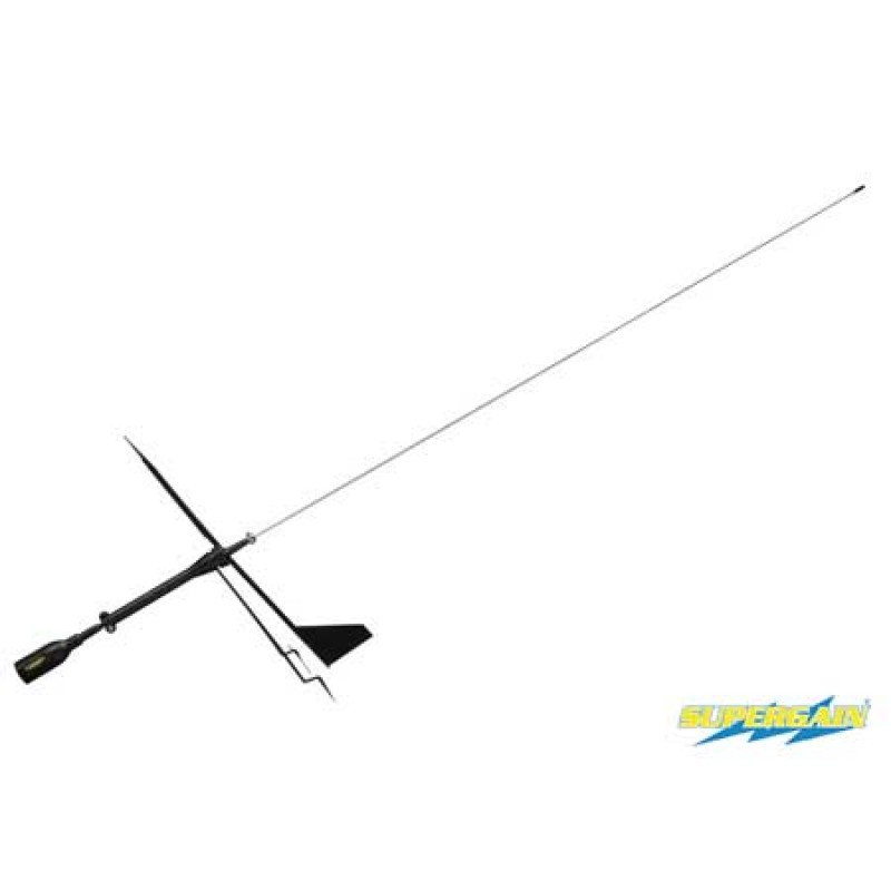 VHF Supergain Black Swan Stainless Steel antenna