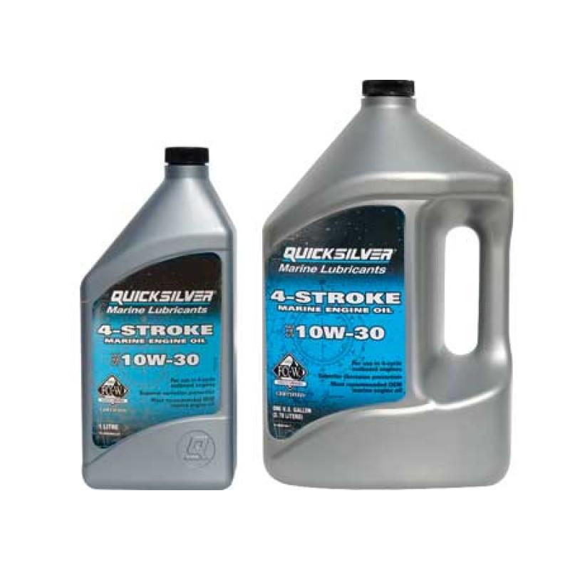 Aceite de 4 Tiempos Quicksilver 10w-30 4lt