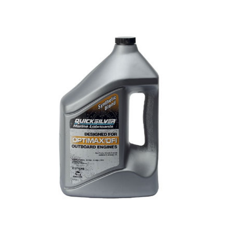 Quicksilver Oil TCW3 PLUS 4lt Outboard 2T Injection