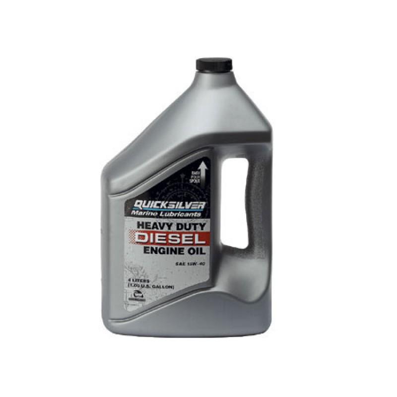 Quicksilver Oil Diesel Engines 15w-40 4lt