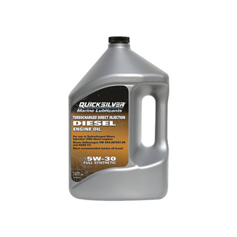 Quicksilver synthetic engine oil SAE 5W-30 Diesel 4lt
