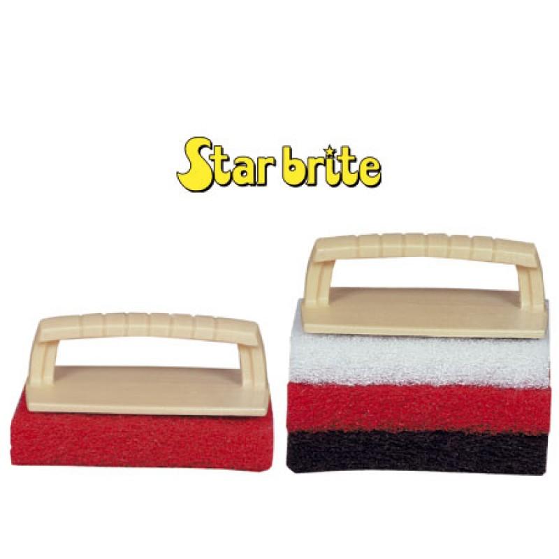 Scrub pad kit  Star brite con tres Pads