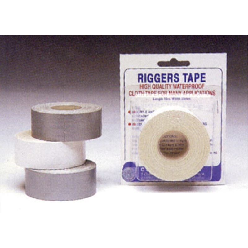 Riggertape gris 10mt x 25mm