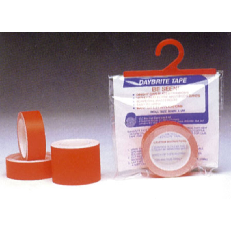 5mt x 25mm orange fluorescent tape