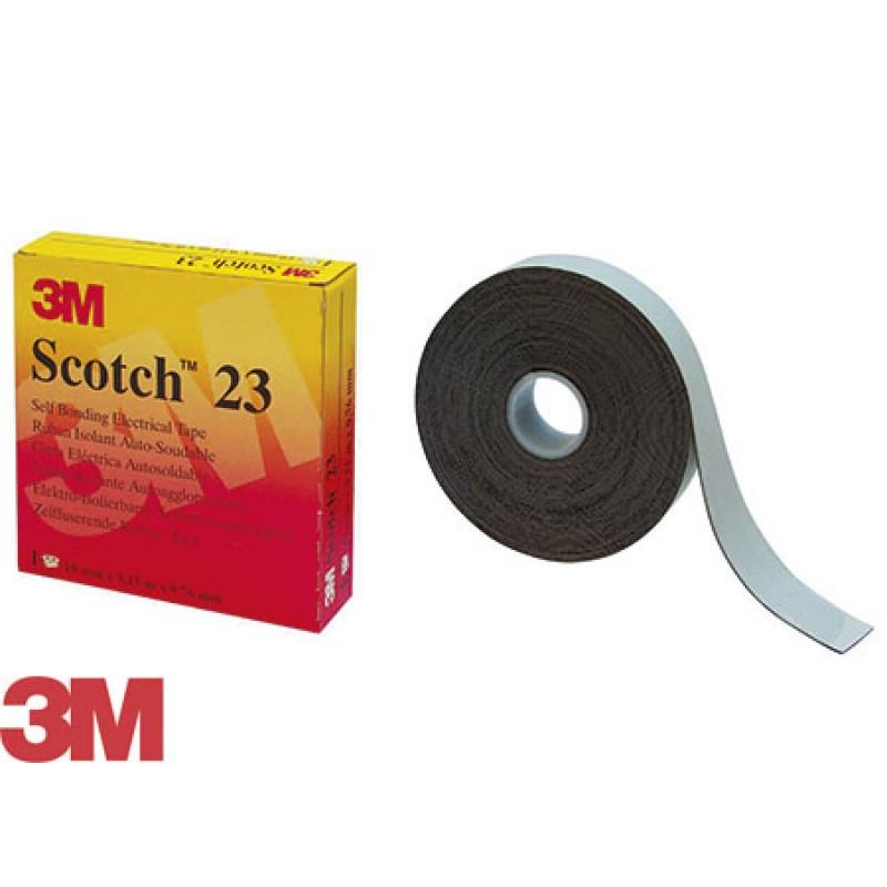 3M Scotch self-amalgamating insulating tape 19mmx9m Black