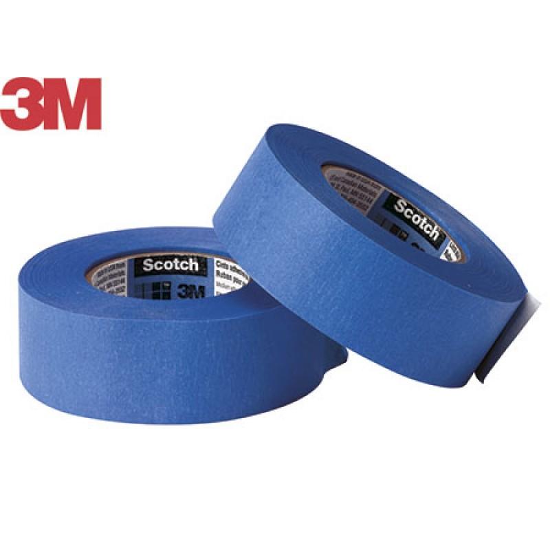 cinta de papel Azul mm 50x50mt