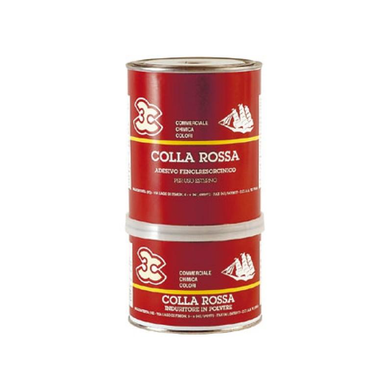 Cola Roja para Madera Marina 0,5 kg