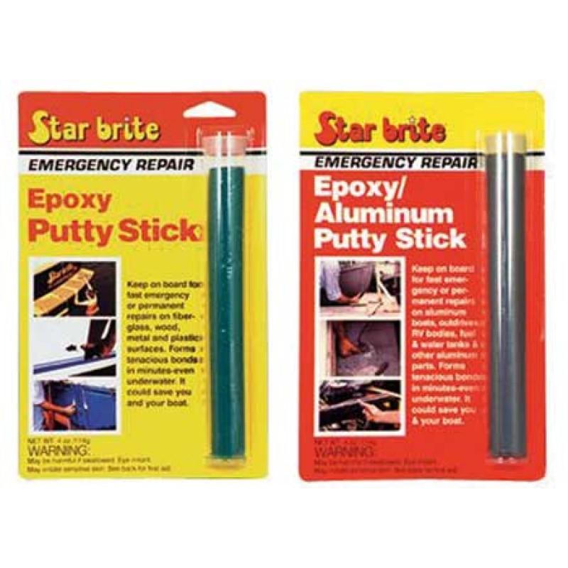 Starbrite epoxy putty sticks repair